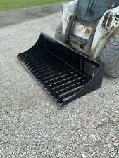New Listing72 Heavy Duty Rock Bucket Skid Steer Loader Attachment 200 Shipping