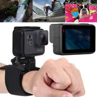 Magic Tape Tripod Wrist Band Strap Mount Holder for GoPro Action Camera Record