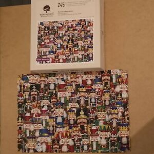 Wentworth Wooden Jigsaw Extra Difficult Festival Of Nutcrackers 245 Puzzle