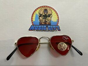 Shawn Michaels 1996 Heartbreak Kid Sunglasses WWF WWE Merch Stand/Catalog RARE
