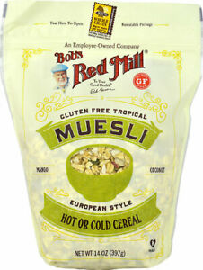 Bob's Red Mill European Style Muesli Gluten Free Tropical Mango Coconut -- 14 oz