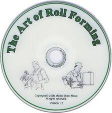 Pexto Tinsmith Dvd - Sheet Metal - Roper - Roll Forming