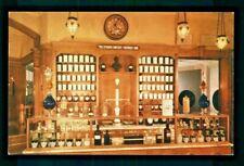 Postcard Disneyland prescription counter in the Upjohn Pharmacy. S