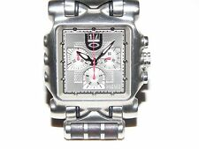 OAKLEY TIME TANK MINUTE MACHINE TITANIUM WARRANT TIMEBOMB GMT UHR WATCH