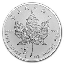 5 $ Dollar Maple Leaf Privy Edison Light Bulb Kanada 2018 1 oz Silber Rev, Proof