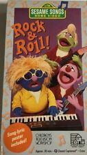 Sesame Street Songs-Rock & Roll [VHS] [VHS Tape] [1990]TESTED-RARE-SHIPS N 24 HR