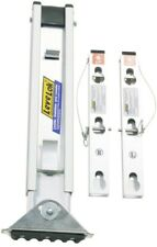 Werner Quick-Click 4 in. x 8 in. x 20-5/8 in. Ladder Leg Leveler Levels Adjusts