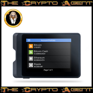 """🔒 SecuX W10 🔒 2.8"""" Screen-Bitcoin & Crypto Hardware Wallet 🔒 Amazing Value!!"""