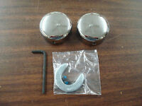 FOR HARLEY DAVIDSON 1984 TO 1999 SOFTAIL SWINGARM PIVOT BOLT COVERS