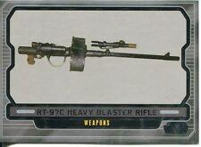 Star Wars Galactic Files 2 Base Card #613 RT-97C Heavy Blaster Rifle