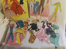 Vintage Paper Dolls- Fashion Models by Tom Tierney- Lots of Costumes!