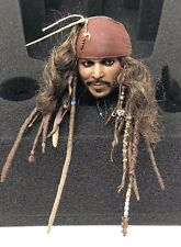 Hot Toys DX15 Jack Sparrow Pirates Of The Caribbean 1/6th Scale Head Sculpt