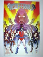 IDW Comics: INSUFFERABLE #3 JULY 2015 sub cvr # 32E91