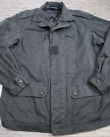 PP-11 Etienne Marcel Military Jacket OLIVE GREEN size S *damage