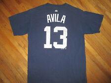 Alex Avila Detroit Tigers 13 Maglia T-Shirt Worn Stampa Baseball MLB Blu Medio