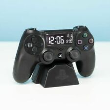 PlayStation PS4 Controller Digital Alarm Clock Officially Licensed Game Console