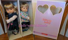 NEW American Girl Boy Bitty Twins 3G 3B BLONDE HAIR BLUE EYES Doll Set