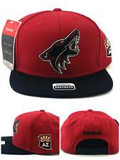 Arizona Coyotes AZ New Reebok Shadow Sedona Red Black Era Snapback Hat Cap
