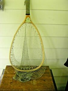 Vintage South Bend Wood Deluxe Trout Fishing Net
