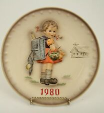 1980 M.I. HUMMEL ANNUAL COLLECTOR PLATE #273