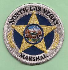 J5 * GB MARSHAL SERVICE NORTH LAS VEGAS NEVADA STATE SHAPE POLICE SWAT PATCH FBI