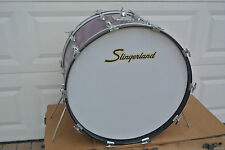 "RARE 70's SLINGERLAND 24"" PURPLE SPARKLE BASS DRUM to YOUR DRUM SET! #C922"