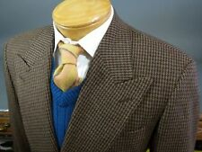 Hickey Freeman Men's 100% Wool Regular Jacket Double Breasted Blazers & Sport Coats
