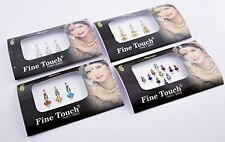4 Pack Indian Bindi Face Gems Jewelry For Sale Forehead Stickers Festival