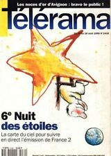telerama n°2430 trinh xuan thuan claudette colbert karine saporta 1996