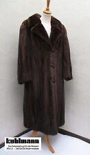 Terrain saga ® scan Brown vison manteau Female mink coat Norka 40 - 44 NEUF