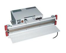 """24"""" Vacuum Sealer 10mm with Double Nozzle Double Impulse Seal Thick Vacuum Bag"""