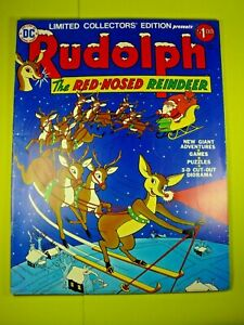Rudolph the Red-Nosed Reindeer Limited Collectors Edition Intact - FN+ DC