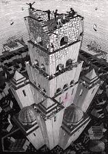 Escher # 62 cm 70x100 Poster Stampa Grafica Printing Digital Fine Art papiarte