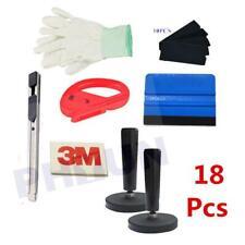 18x Car Door Window Vinyl Wrap Installation Tools 3M Squeegee Glove blade