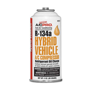 New A/CPRO R-134a Hybrid Vehicle 3oz A/C Compressor Oil Charge  HYB-2V