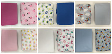 Crib Sheet - Toddler Sheet - 2 Pack - Print & Solid - Boy Girl & Neutral Options