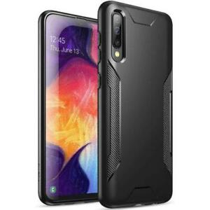 Poetic Slim Black Soft TPU Shockproof Case iSamsung Galaxy A50 Cover