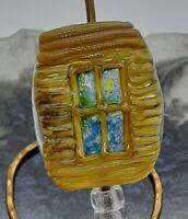 "Handmade Lampwork glass focal bead ""Fenestram"" SRA, TWLGlass,"