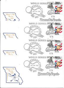 1985 WORLD SERIES, ST. LOUIS CARDINALS vs KANSAS CITY ROYALS