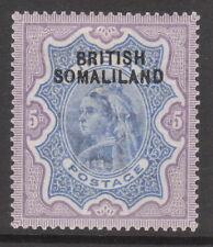 BRITISH SOMALILAND 1903 #13 EDV11 MINT STAMP