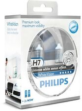 P 2 x PHILIPS H7 12V 55W Halogen Lampe 12972WHVSM PX26d WHITE VISION XENON +W5W