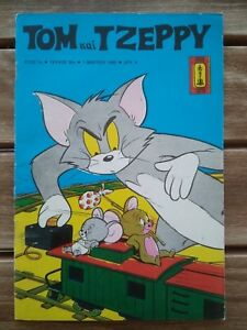 Greek Comics TOM & JERRY ΤΟΜ & ΤΖΕΡΡΥ rare from 70s and 80s in perfect condition