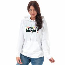 NWT LEVIs Sport Hoody Pocket Hoodie Jumper Sweat White Oversize Baggy S/M/L/XL