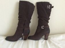 Guess Brown Leather Boots size 5.5M