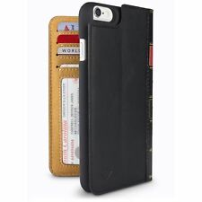 Twelve South BookBook iPhone 6/6s | leather wallet case, display stand & shell