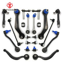 for BMW X5 E53 00-06 Front Rear Control Arms Suspension Kit Tie Rod Ball Joints