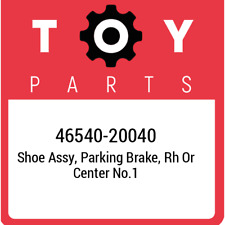 46540-20040 Toyota Shoe assy, parking brake, rh or center no.1 4654020040, New G