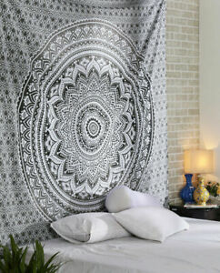 Wall Hanging Tapestry Home Decor Mandala Tapestry Bedspread Hippie Size Queen