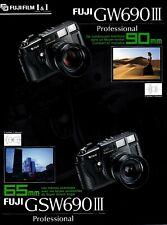 FUJIFILM GW690 III - feuillet publicitaire - français -