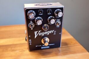 Spaceman Effects Voyager 1 Silver Optical Analog Tremolo
